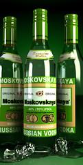 VODKA (broto_99) Tags: vodka 3dsmax moskovskaya vray