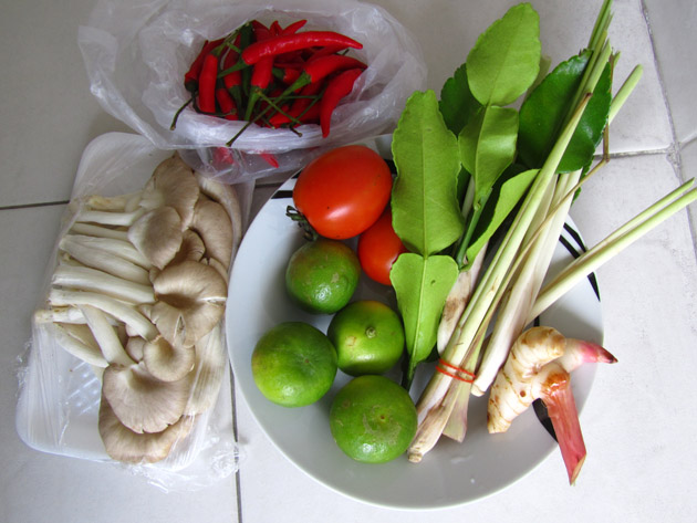 Easy Thai Tom Yum Soup Recipe