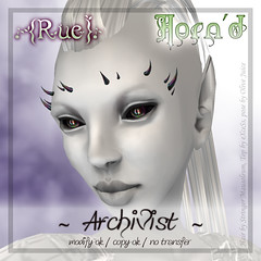 {Rue} AD Horn'd Style Archivist