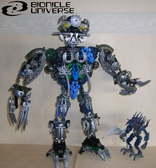 Minion (Sparkytron) Tags: dark hunter universe bionicle minion