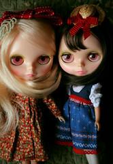 Audrey and Brittney