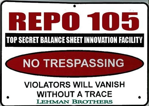 REPO 105 WARNING