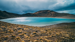 Small lake up in the mountain (stefannik) Tags: blue lake water longexposure newzealand tongariro alpine alpinecrossing nature naturaleza landscape wideangle wide wild sky mountain mount nikon tokina awesome beautiful fantastic mood