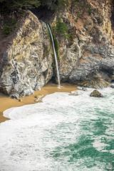 Big Sur (joshbousel) Tags: beach bigsur ca california juliapfeifferburnsstatepark mcwayfalls northamerica ocean pacificcoast pacificocean places travel unitedstates unitedstatesofamerica usa water