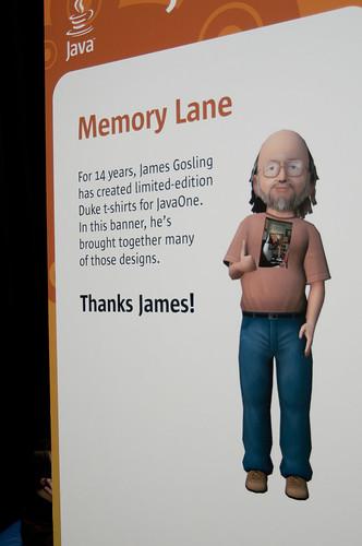 Memory Lane, JavaOne 2009 San Francisco