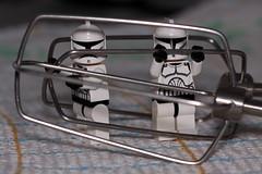 Momentary Setback (pasukaru76) Tags: kitchen fun starwars lego trouble clones adventures sigma105mm