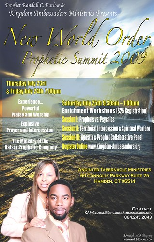 New World Order Prophetic Summit 2009