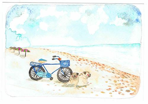 The coming beach trip