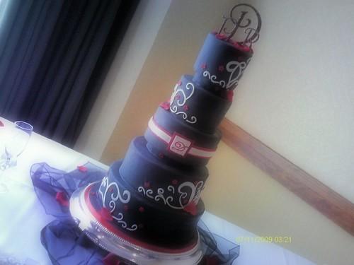 my mom's wedding cake