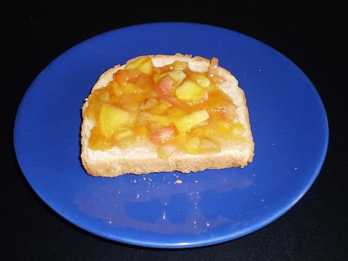 Peach Rhubarb Jam 10