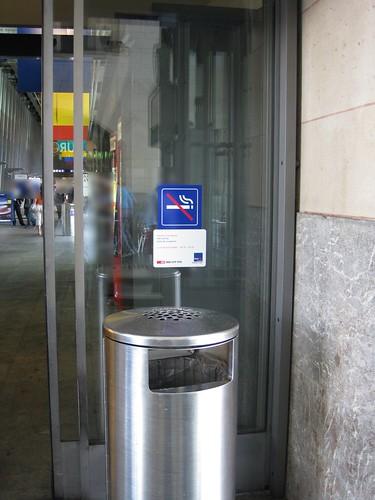 Bahnhof Lausanne, Durchgang Haupthalle