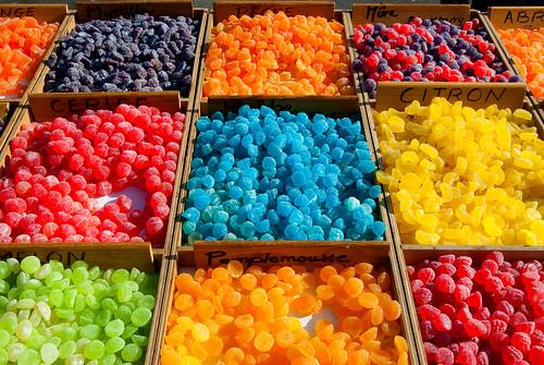 Les bonbons du Ventoux, Le Mont Ventoux, Beaumont-du-Ventoux, France 2009