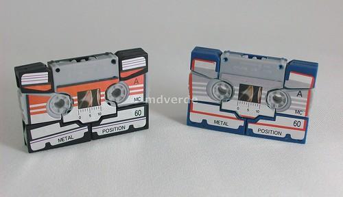 Transformers Rewind & Eject G1 Encore Reissue - modo alterno