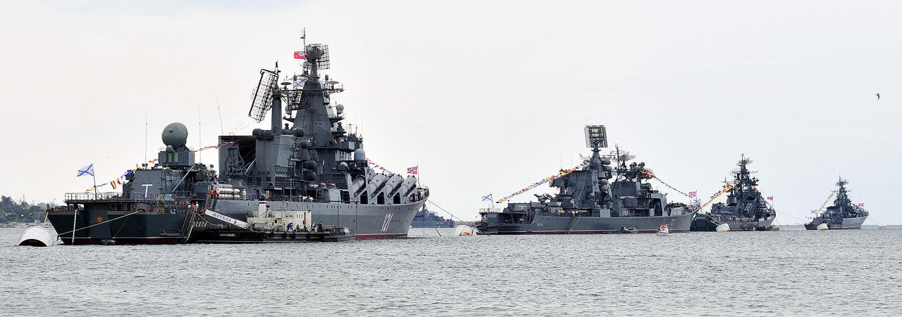 Головные корабли ЧФ РФ
