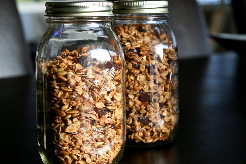 Gingery Olive Oil Granola
