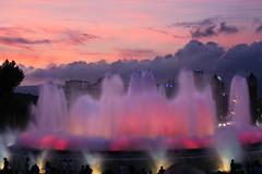 Montjuic fountain, Barcelona