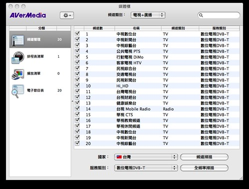 AVerTV for Mac - 3