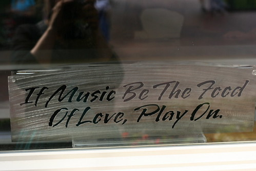 If Music Be The Food of Love...