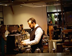 Intelligentsia Coffee ~ Venice, CA (r.e. ~) Tags: california venice coffee losangeles pro latte barista intelligentsia affogato intellivenice