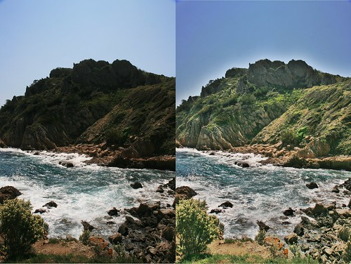 Testing Local Constrast/ Local Tonemapping/ Pseudo HDR Digikam plugin : before and after