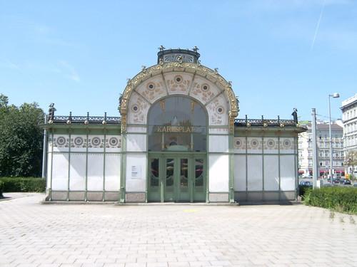 Subway Pavillion Karlsplatz - Wagner (Wien)