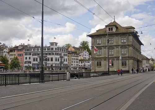 House on Zurich lake