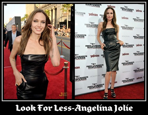 look for less- angelina jolie