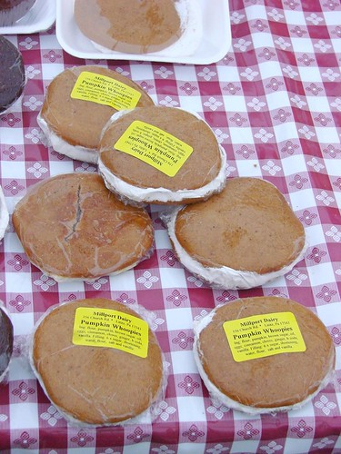 Pumpkin Whoopie Pies Millport Dairy at the Rock Center Farmer's Market