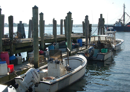Small Rhode Island Fishing Boats