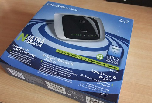 Konkursas: Linksys WAG160N Wireless N ADSL2+ Router
