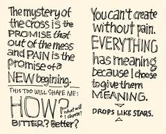Drops Like Stars: Sketchnotes 11-12