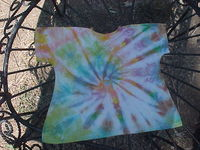 14-16 inch Tie dye Doll Nightie (Or t-shirt dress)