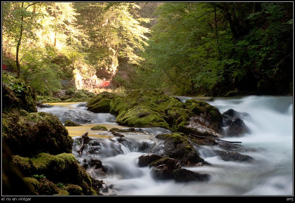 el rio en vintgar