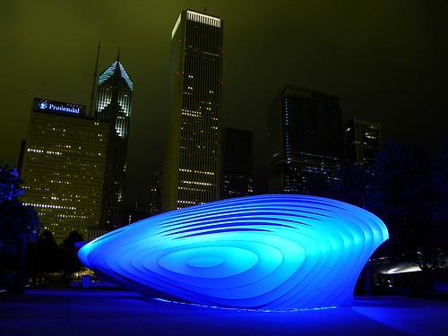 Chicago Millenium Park - Burnham Pavilions