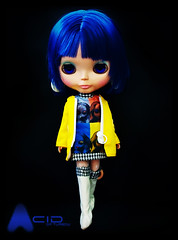 [ ADAW 36 / 52 ] : Acid in her best stock (TURBOW) Tags: doll anniversary acid stock blythe neo bluehair takara 2009 limitededition 3rd aa tomy cwc artattack adaw adollaweek