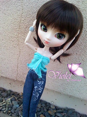 Violet (Violet-chan) Tags: new fan violet clothes wig chan pullip xiao