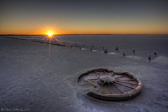 Barren Sunset (WilliamBullimore) Tags: sunset nature landscape salt australia saltlake southaustralia saltflat