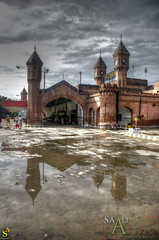 The Lahore Railway Station...