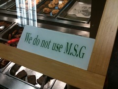 No MSG, Yeah Right