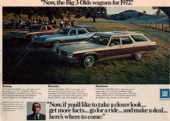 1972 Oldsmobile Cutlass Cruiser, Vista-Cruiser and Custom Cruiser Station Wagons (coconv) Tags: auto old classic cars hardtop car station truck vintage magazine wagon cards flyer automobile post antique postcard ad 98 advertisement vehicles card postcards tailgate vehicle trucks autos collectible custom collectors 1972 72 eight coupe cruiser v8 automobiles oldsmobile stationwagon wagons ninetyeight cutlass ninety vistacruiser glideaway