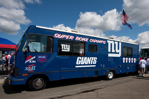 Super Bowl Bus