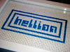 Hellion (Stitch Out Loud) Tags: white crossstitch humor craft popart popculture needlecraft hellion stitchoutloud