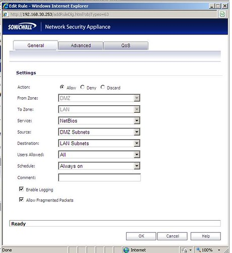 sonicwall-nsa-4500-open-ports-from-dmz-to-lan-setting-example