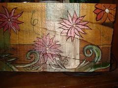 λουλούδι πυρογραφία (AEGEOTISSA) Tags: art pyrography πυρογραφια