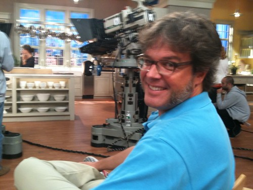 George Motz at the Martha Stewart Show