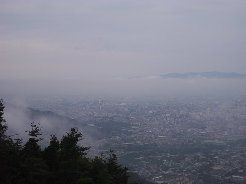 From the Daimonji mountain
