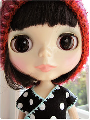 Midi with her pretty eyes ^. (megipupu) Tags: doll handmade blythe megipupu punkaholicpeople