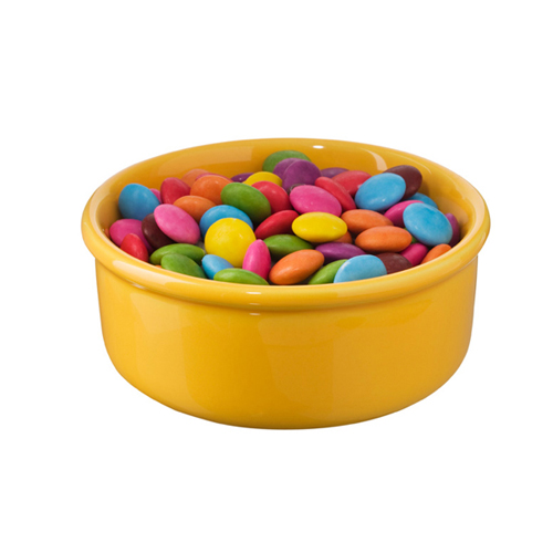 Small Pot - Yellow (with smarties no lid x)