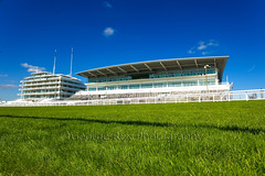 Epsom Racecourse: Duchess's Stand (Images George Rex) Tags: architecture downs bluesky racecourse epsom modernarchitecture grandstand greengrass epsomdowns queensstand epsomdownsracecourse grxa23 duchesssstand imagesgeorgerex photobygeorgerex