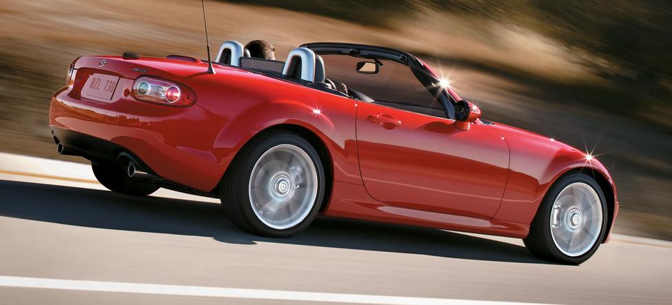 Mazda MX-5 Miata test drive photos